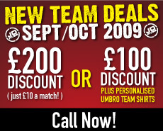 Get £200 off your match fees - Join Now