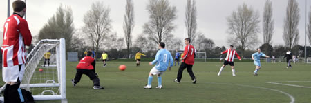 JD Fives 5 a side football at Wide Lane Sports Ground